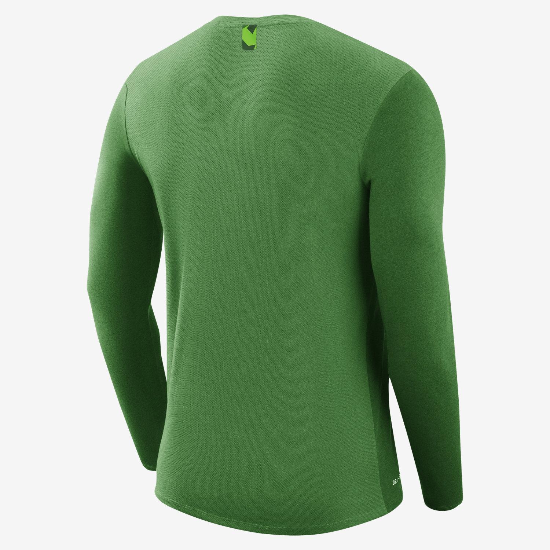 Nike College Dry Marled (Oregon) Men's Long Sleeve T-Shirt. Nike.com