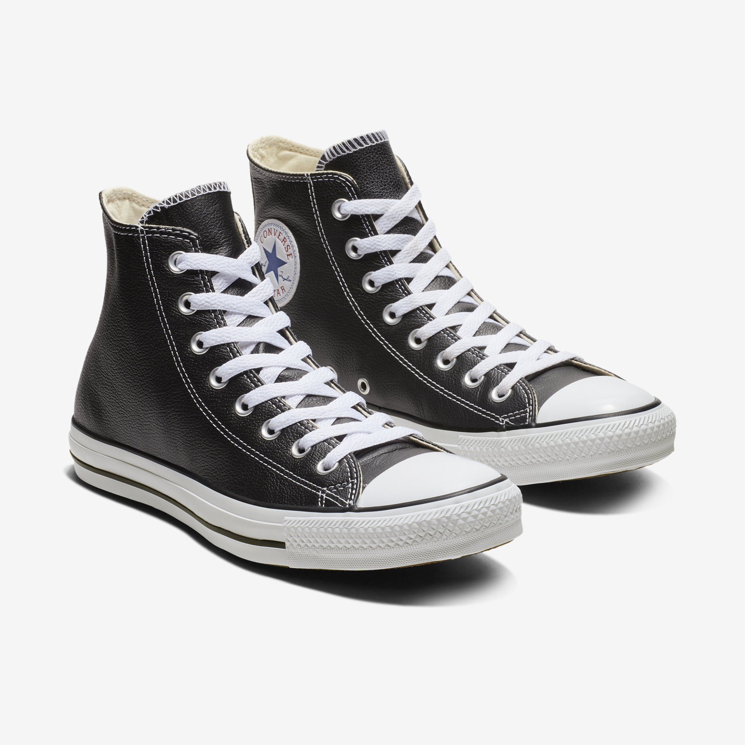 all black converse with white sole