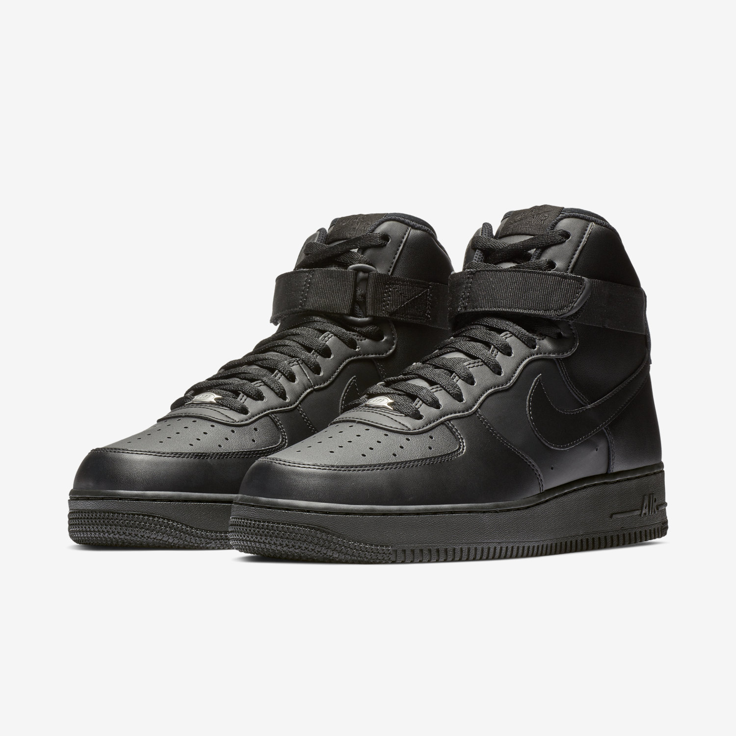 nike air force one premium black