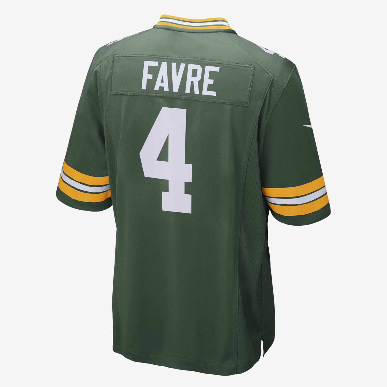 ... 4 NFL Green Bay NFL Green Bay Packers (Brett Favre) Mens Football Home  Game Jersey. Nike. a09c5d340