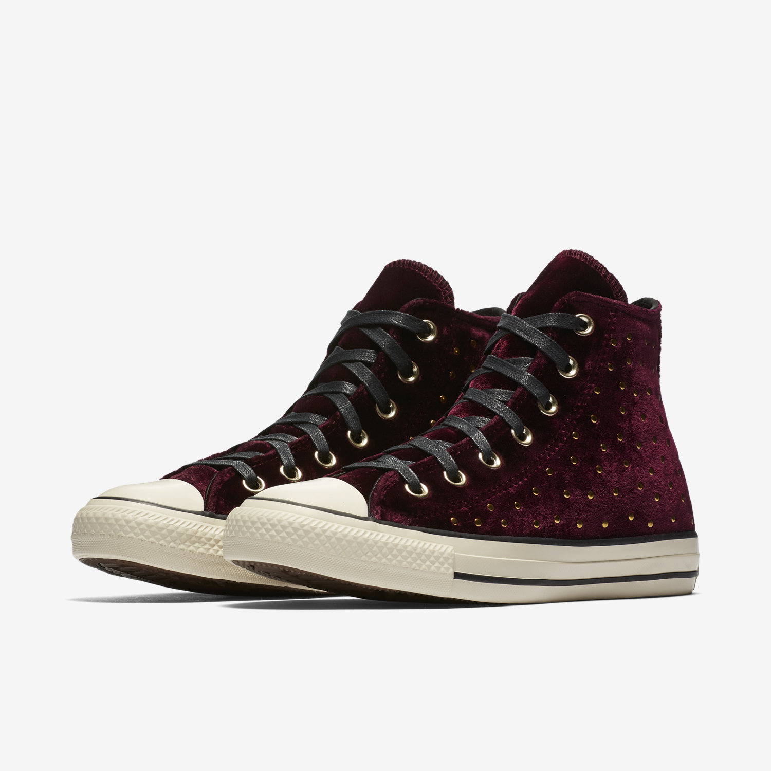 Converse Women's Chuck Taylor® All Star® Velvet Stud Hi Top Sneakers s9cHBWa