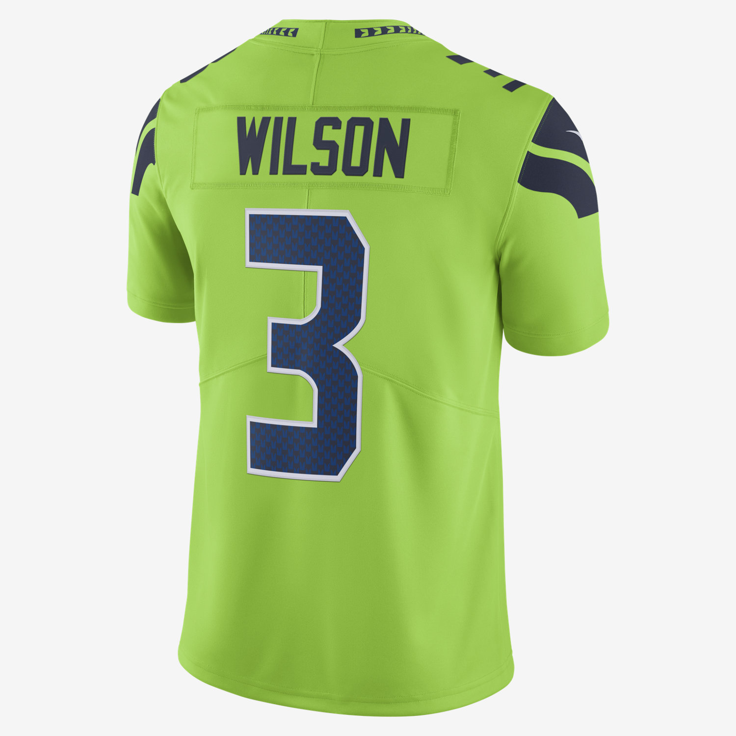 nfl seattle seahawks color rush limited russell wilson men u0027s