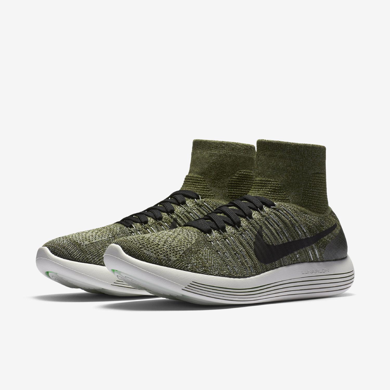 Cheap Nike LunarEpic Flyknit Women's Running Shoes White/Black