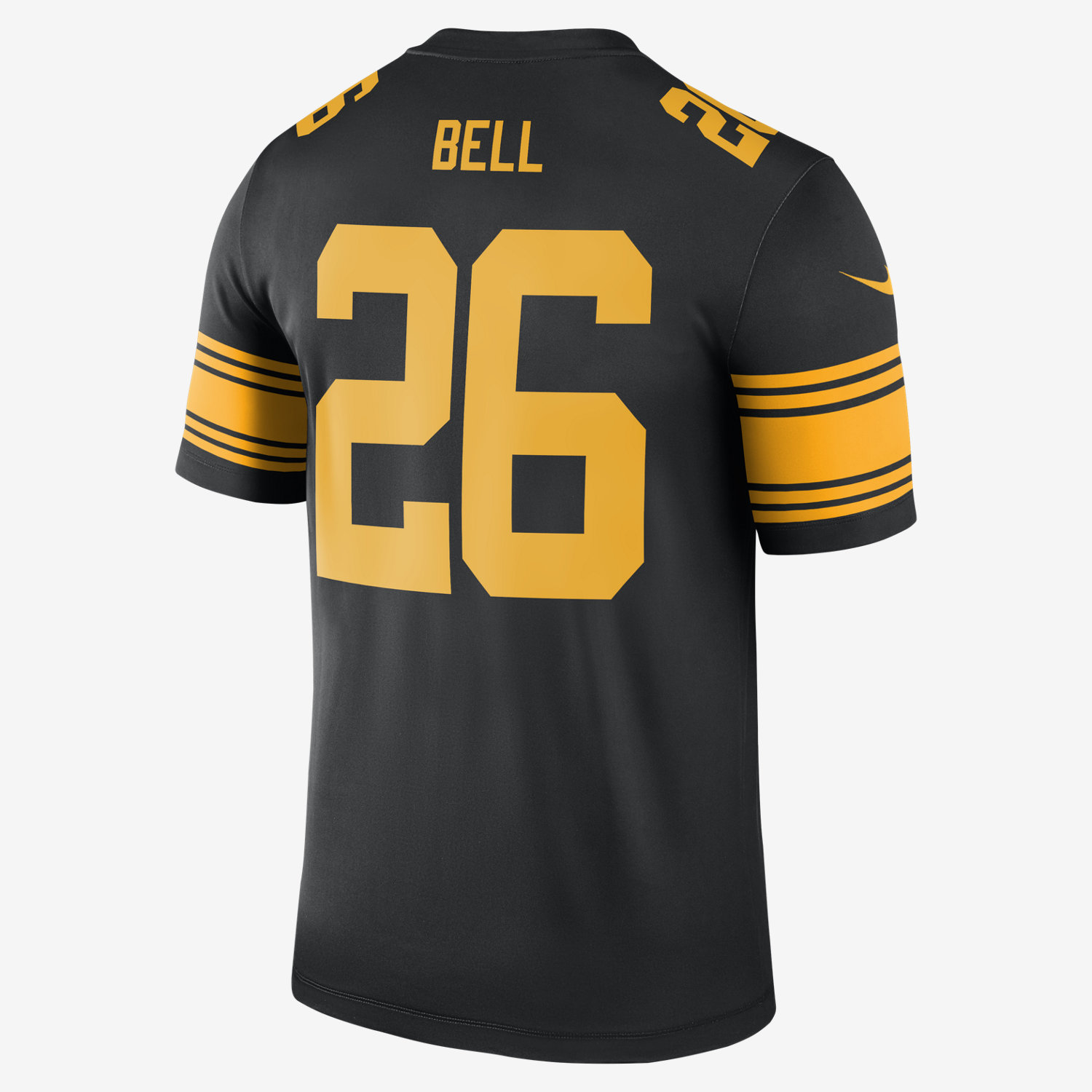 9d1532dbb91 ... nfl pittsburgh steelers color rush legend leveon bell mens football  jersey. nike .