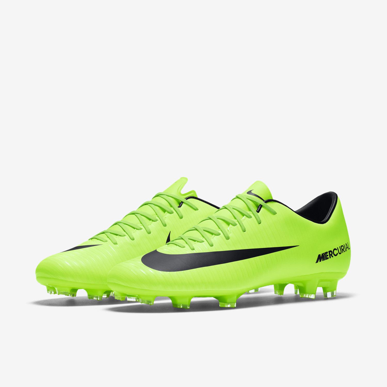 b8107f755 ... discount white green black nike mercurial victory vi firm ground  football boot. 263e8 49624