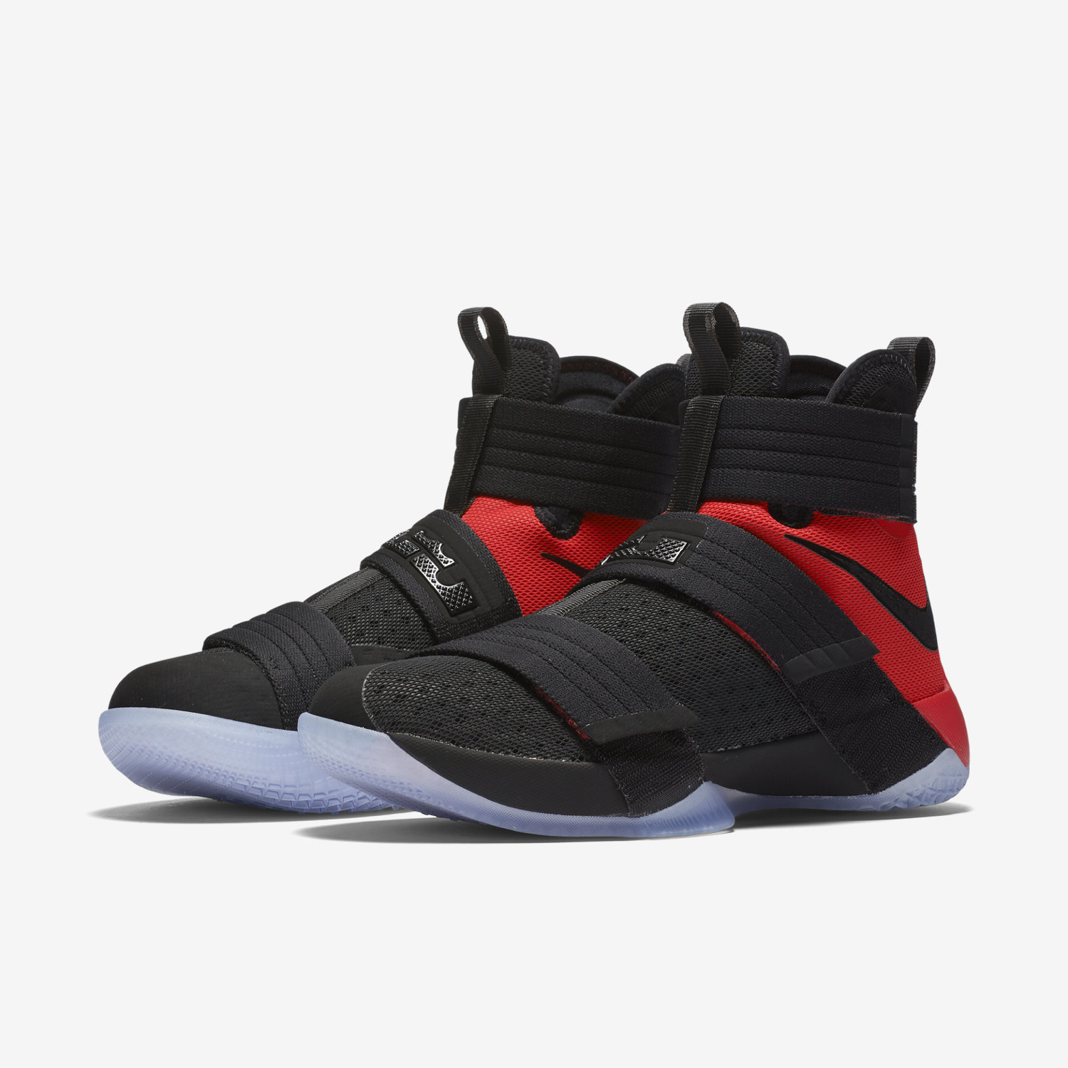 super popular 234ce e1afa ... red blue mens basketball shoes Nike Zoom LeBron Soldier 10 SFG Mens  Basketball Shoe.