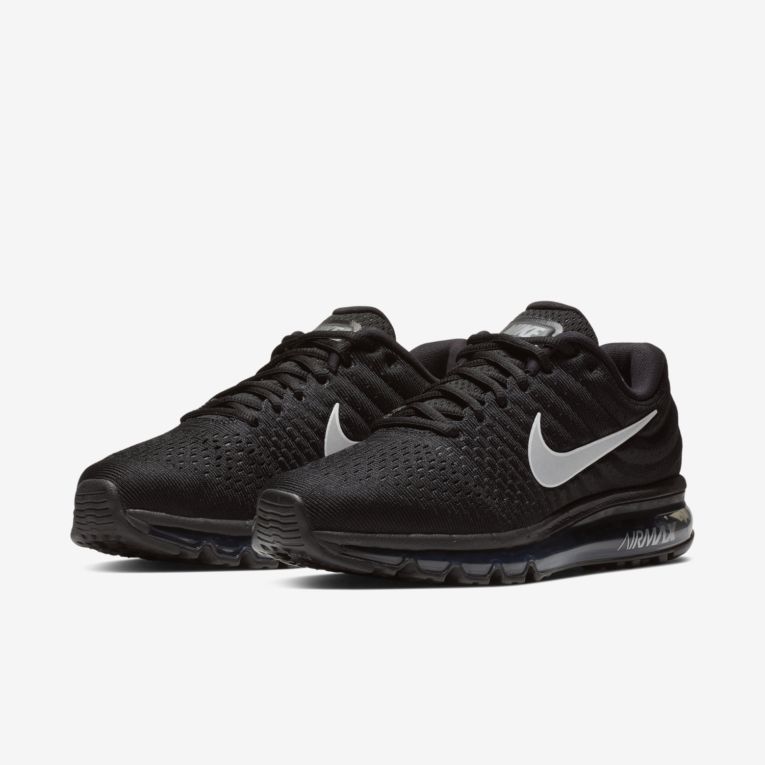 Nike air max 2018 black and white dresses