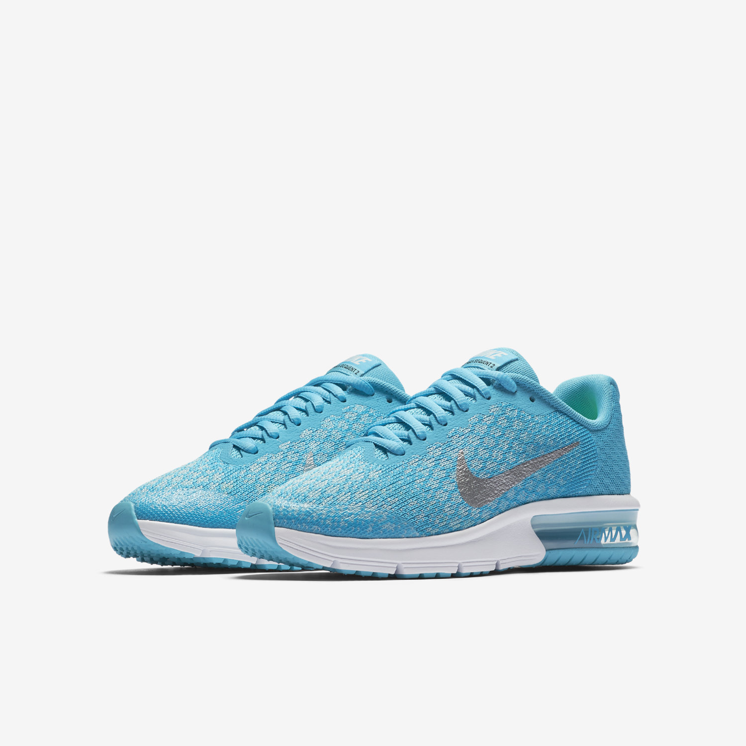 nike air max sequent 2 blue vcfa. Black Bedroom Furniture Sets. Home Design Ideas