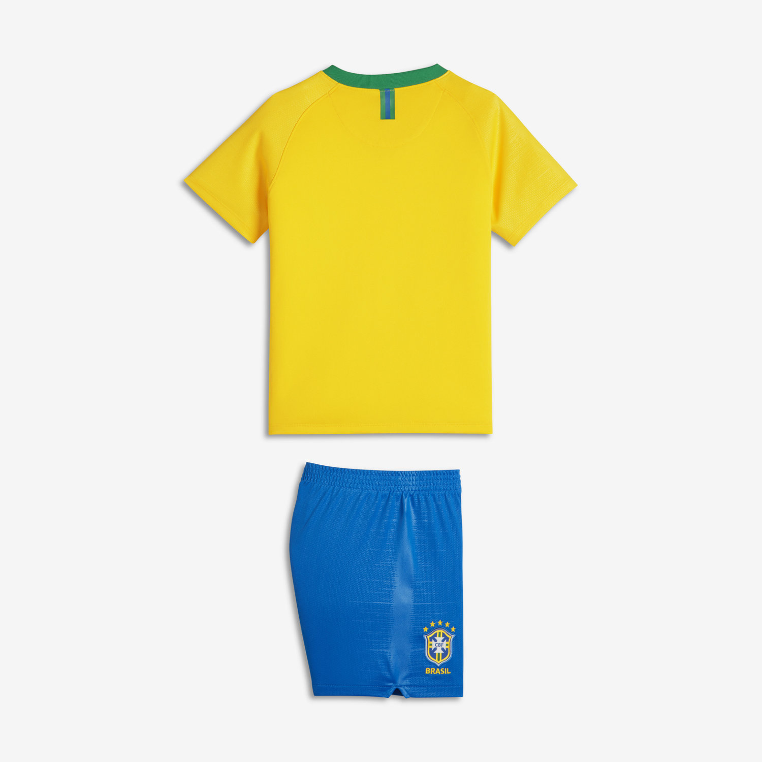 2b64cd0c85 2018 Brazil CBF Stadium Home Younger Kids  Football Kit. Nike.com UK
