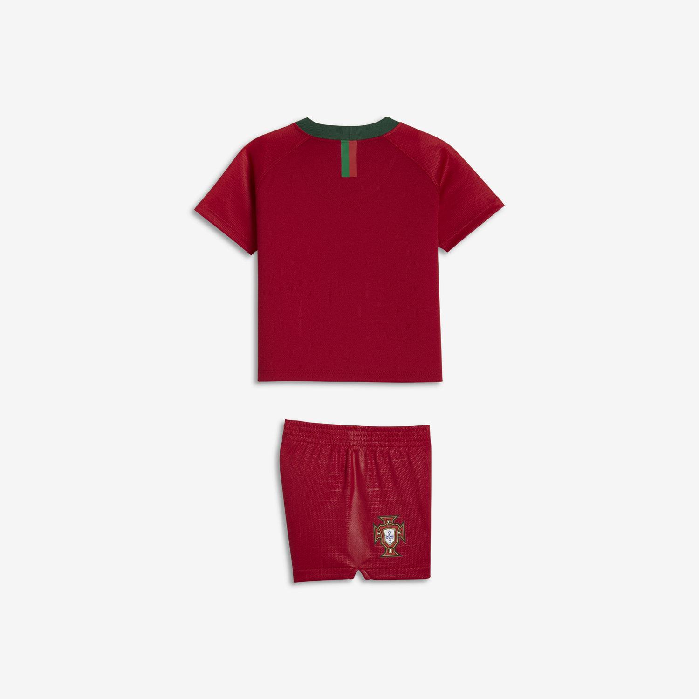 8fa5df02d7b 2018 Portugal Stadium Home Baby & Toddler Football Kit. Nike.com UK