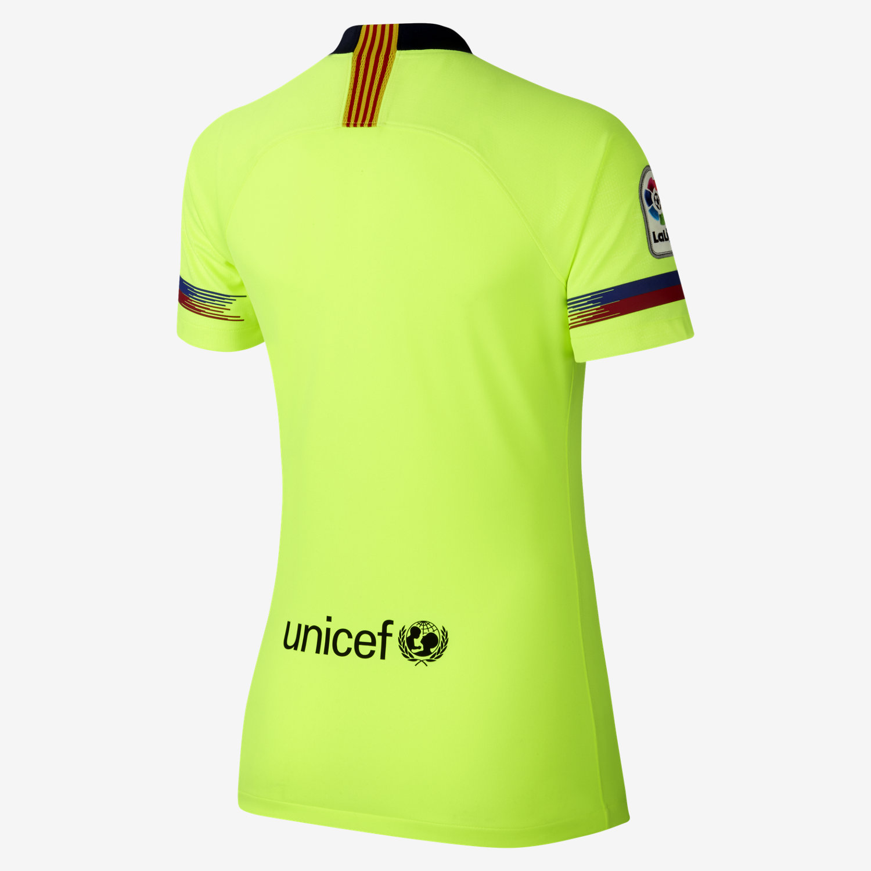 2018 19 FC Barcelona Stadium Away Camiseta de fútbol - Mujer. Nike.com ES 3bc97d8ce57