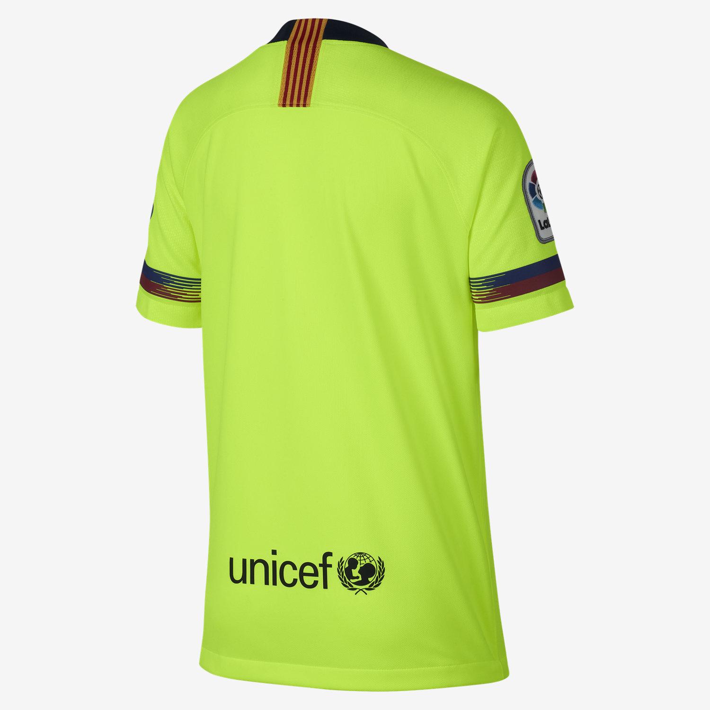cc4e32c3da 2018 19 FC Barcelona Stadium Away Older Kids  Football Shirt. Nike ...