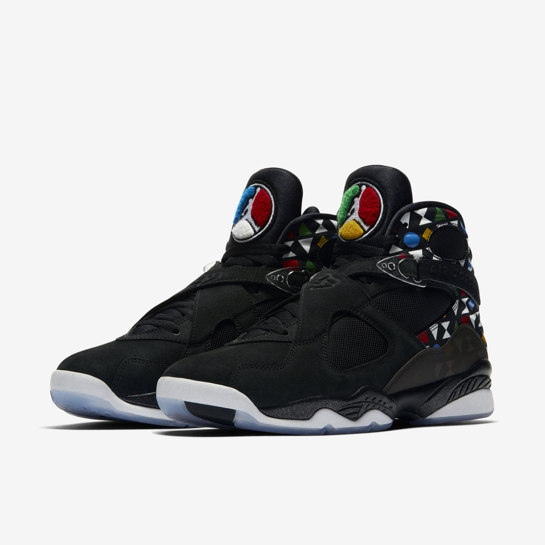 newest 1b58d fe621 Air Jordan 8 Retro Q54 Men's Shoe