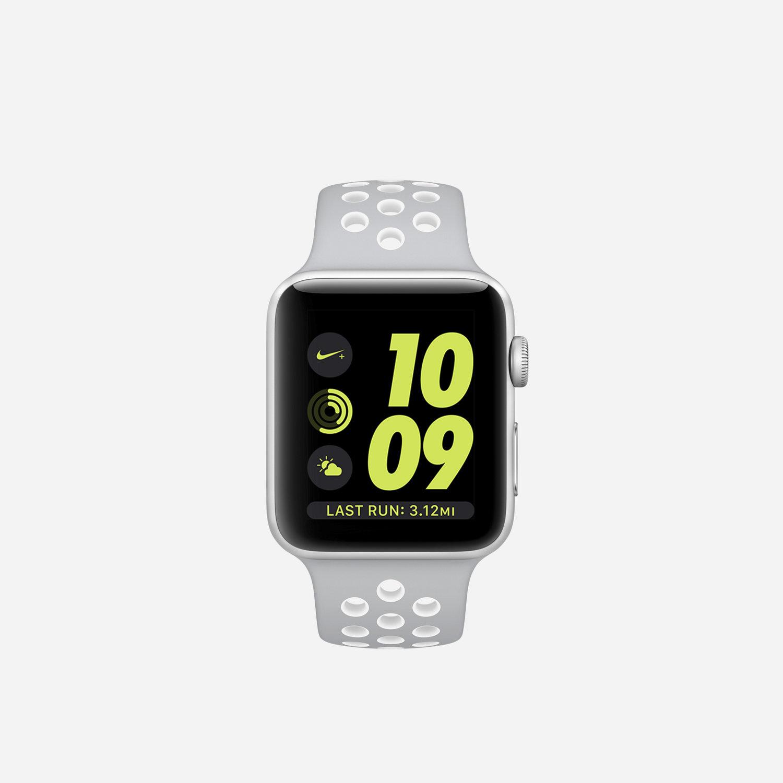 apple watch nike series 2 42mm running watch nike com rh store nike com Nike Wrist Watch Nike Oregon Watch