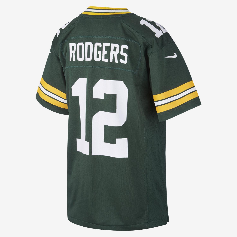 NFL Green Bay Packers Game Jersey (Aaron Rodgers) Older Kids ... c338df1af