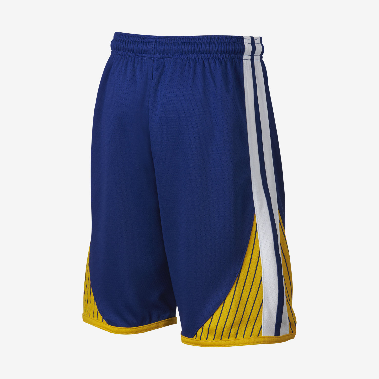 Short NBA Golden State Warriors Nike Icon Edition Swingman pour Garçon plus âgé