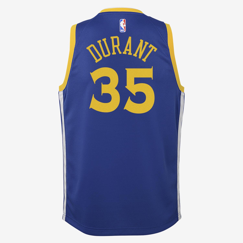 50a8e39da619a Kevin Durant Golden State Warriors Nike Icon Edition Swingman Camiseta de  la NBA - Niño a. Nike.com ES