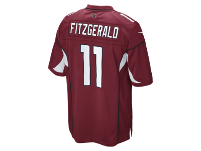 ... NFL Arizona Cardinals (Larry Fitzgerald) Mens Football Game Jersey. 04e23635d