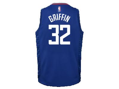 15b392f58 ... 2015-16 Playoffs Blake Griffin Los Angeles Clippers Nike Icon Edition  Swingman Big Kids NBA Jersey. Nike.