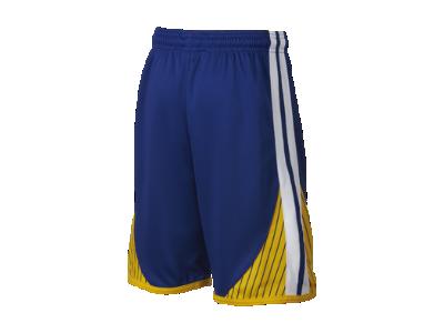 Short NBA Golden State Warriors Nike Icon Edition Swingman pour Garçon plus âgé