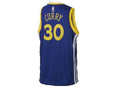 bb40dfafc Koszulka NBA dla dużych dzieci Stephen Curry Golden State Warriors Nike  Icon Edition Swingman. Nike.com PL