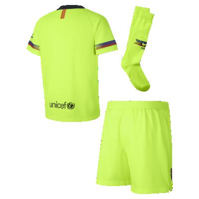 873026c85 Strój piłkarski dla małych dzieci 2018/19 FC Barcelona Stadium Away.  Nike.com PL